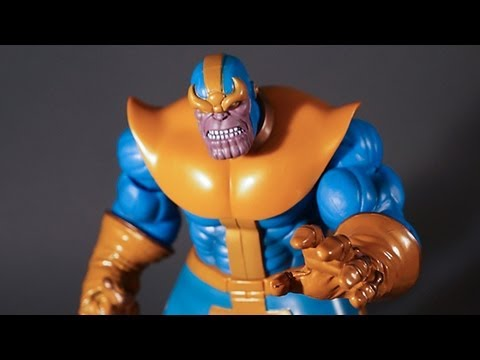 Thanos Marvel Select Action Figure ActionFeatures.net Toy Talk Review Avengers Diamond Reissue