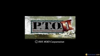 P.T.O. II gameplay (PC Game, 1992)