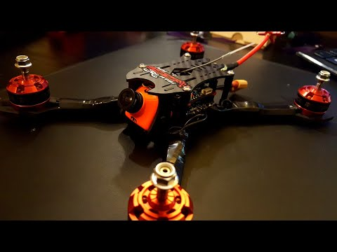 How to Build a Racing Drone 2017 // iFlight Strider V2, Ipeaka 35A, Reve Bee32 F4 , Force 2207