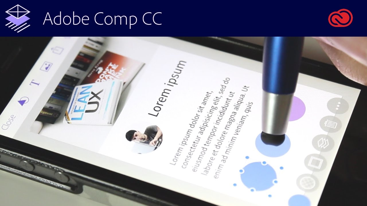 create layouts in just minutes with adobe comp - youtube