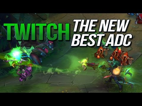 THE NEW BEST ADC? TWITCH 6.22 Gameplay (League of Legends)
