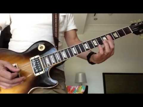 Gimme Shelter Guitar Intro  standard tuning  correct way