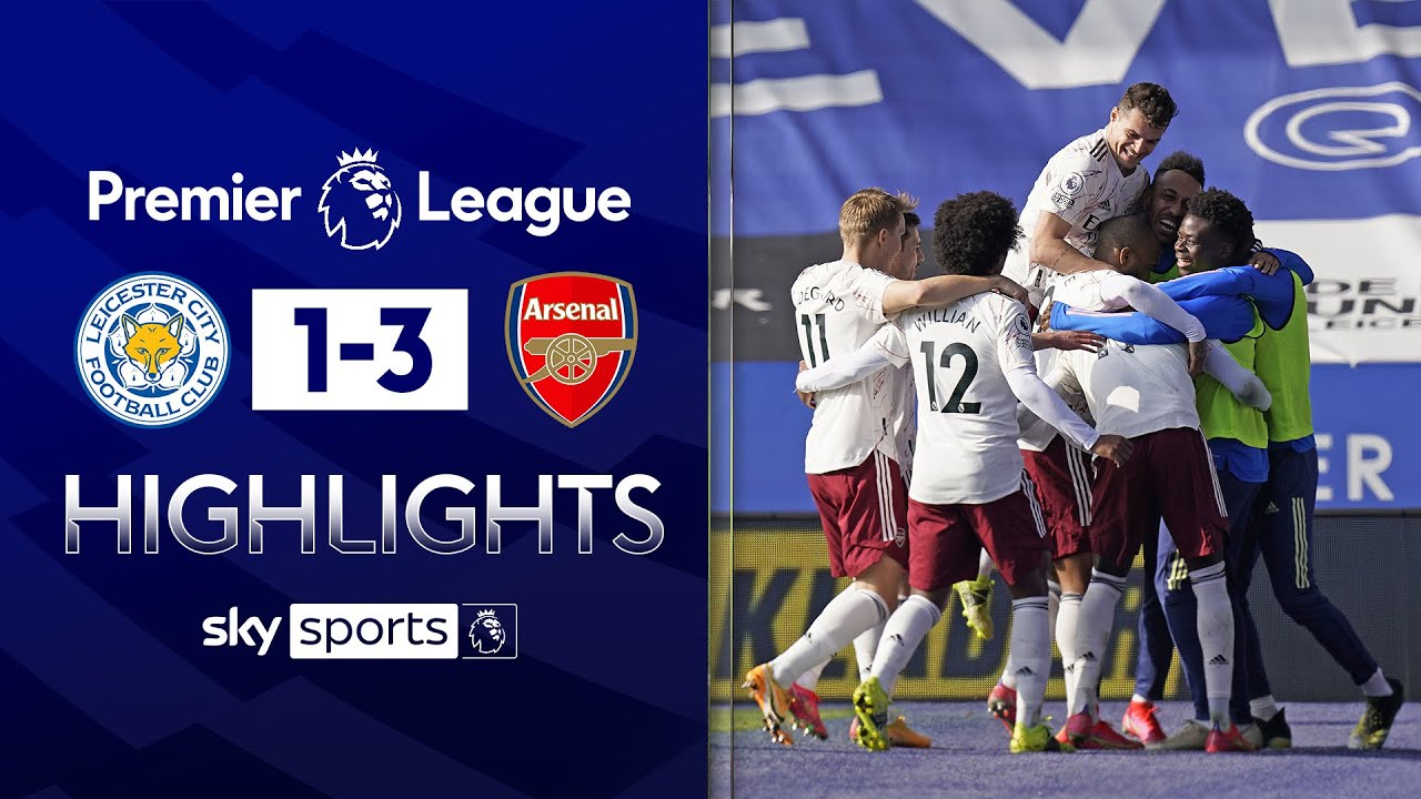Pepe rounds off BRILLIANT Arsenal comeback! | Leicester 1-3 Arsenal | Premier League Highlights