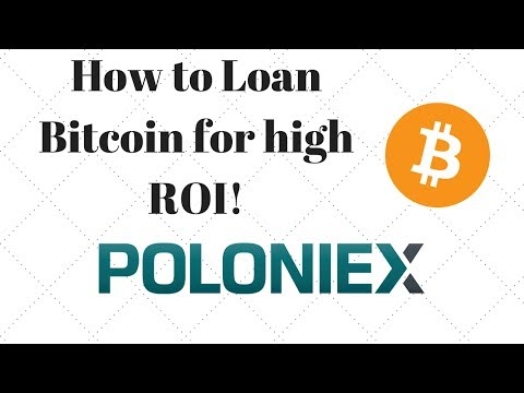How to loan bitcoin on Poloniex with 0.1% ROI Daily!