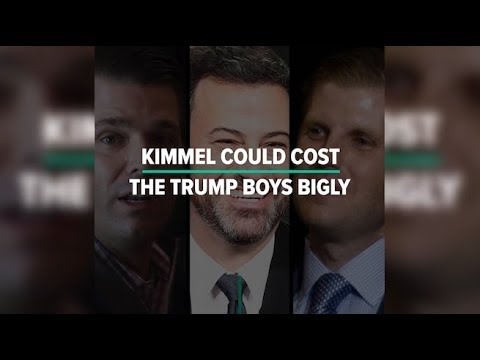 Kimmel Could Cost Trump Sons Bigly