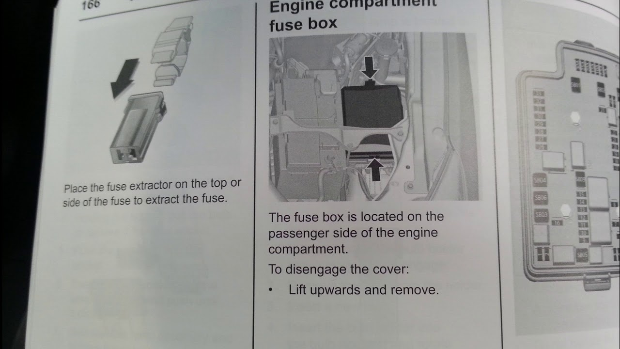 2012 holden colorado fuse box locations and fuse cards [ 1280 x 720 Pixel ]