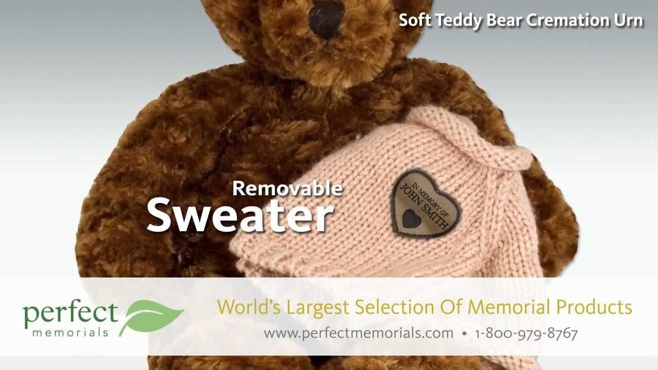 Teddy Bear Cremation Urns Youtube
