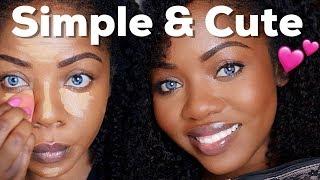 Less than 5 Minutes Everyday Makeup  | Cydnee Black