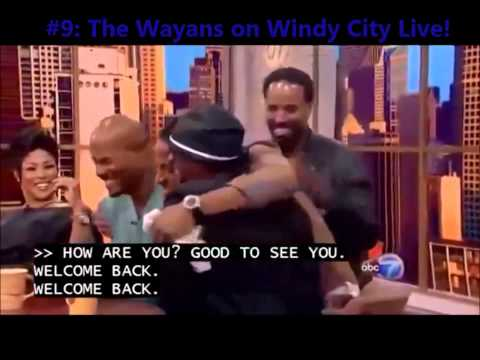 Top 25 Wayans Funniest moments of 2014