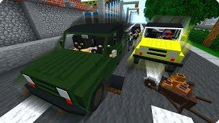 ЛИКВИДАЦИЯ ГЛАВАРЯ БАНДИТОВ! СНАЙПЕР! ДЕНЬ 13. ЗОМБИ АПОКАЛИПСИС В МАЙНКРАФТ! - (Minecraft - Сериал)