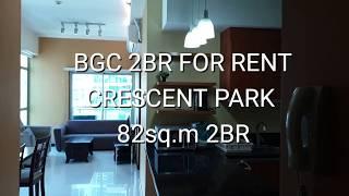 BGC 2BR CONDO FOR RENT, CRESCE…