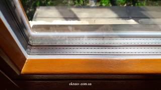 видео Заказать деревянные окна со стеклопакетом цена