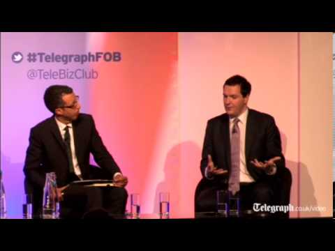 Watch again: George Osborne at The Telegraph's Festival of Business