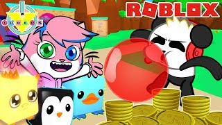 CANDYLAND UPDATE! BIGGEST BUBBLE IN ROBLOX ! Bubblebum Simulator Let's Play