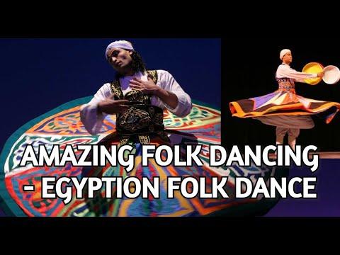 Amazing Egyption Folk Dance | Dubai Desert Safari Camp | 4K Quality
