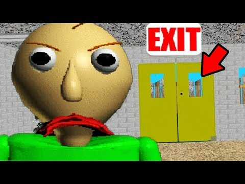 WE ALMOST ESCAPED THE SCHOOL?! | Baldis Basics In Education And Learning (NEW)