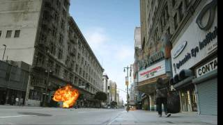Street Bomb scene (Action Essentials 2)