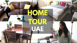 My House Tour | Studio Apartment | UAE | Small home organisation decor ideas| Malayalam