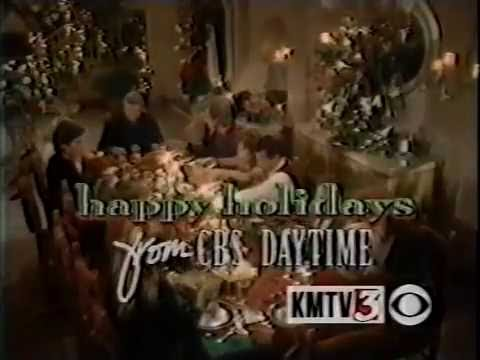 CBS Daytime holiday promo, 1995