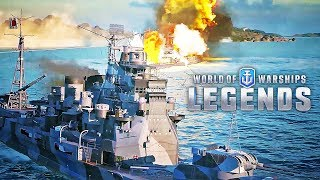 World of Warships: Legends – Official Hunt for Atago Trailer