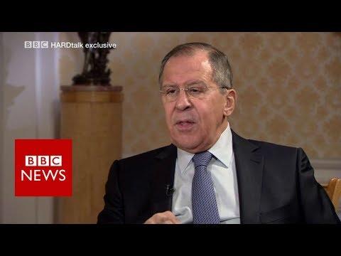 Sergei Lavrov: \'No evidence\' for Syria chemical attack - BBC News