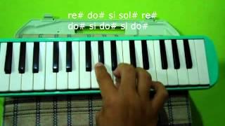 Cassava Piece - How to play the Melodica - Como tocar Escaleta