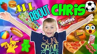 20 Facts About Me!!  20 Things You Didn't Know About Chris From Family Fun Pack