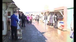 Во время проверки альметьевского рынка ларьки остались без продавцов