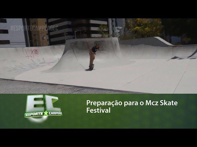 Acompanhe a preparação de um grupo para o Mcz Skate Festival