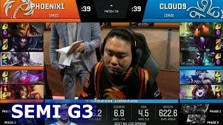 phoenix1 vs cloud 9 game 3   semi finals s7 na lcs spring 2017 playoffs   p1 vs c9 g3 sf 1080p