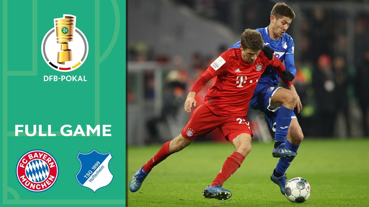 FC Bayern Munich vs. TSG Hoffenheim 4-3 | Full Game | DFB-Pokal 2019/20 | Round of 16