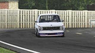 1973 BMW 2002 Turbo Top Gear Test Track