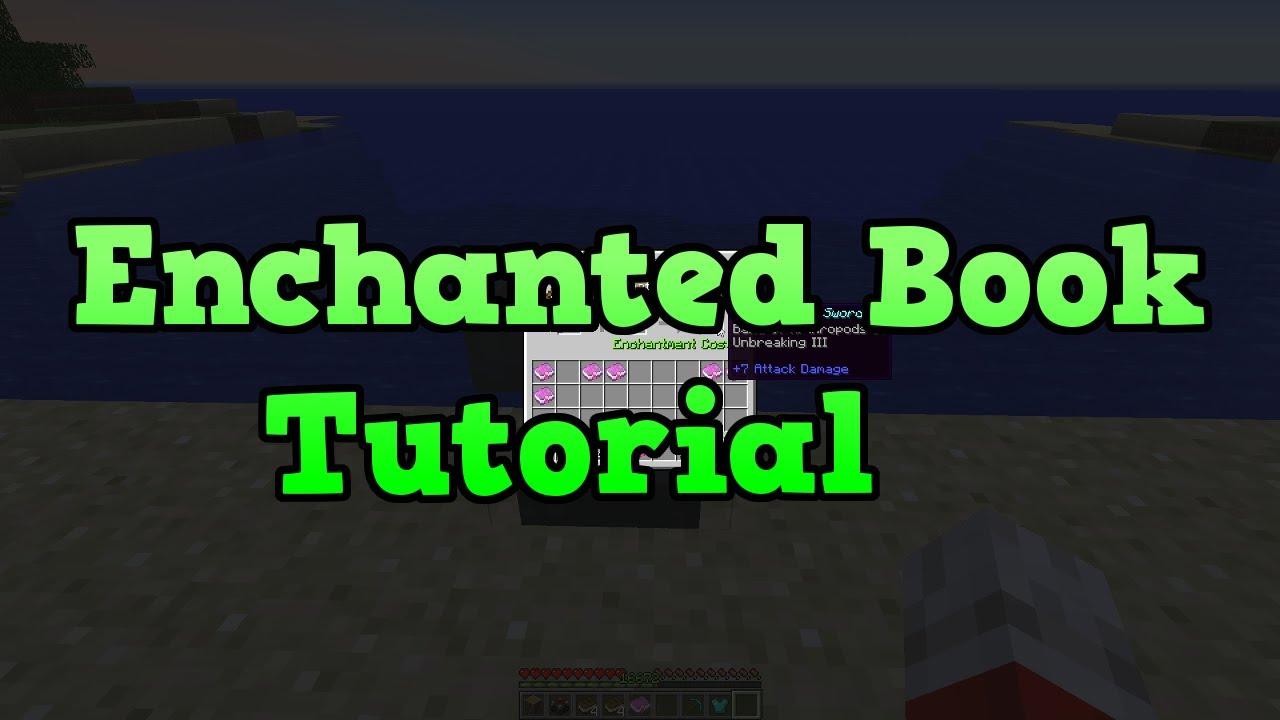 Minecraft Xbox + PS9: TU9 Enchanted Book Tutorial
