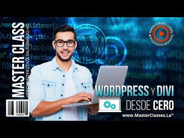 Wordpress y Divi desde cero - Diseña páginas de forma fácil.
