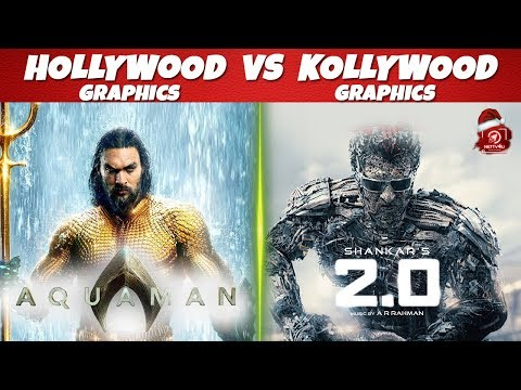 Hollywood Vs Kollywood Graphics | Aquaman | 2.0