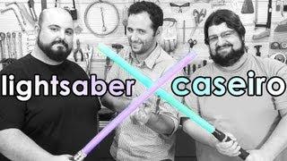 Como fazer um sabre de luz caseiro (com Jovem Nerd e Azaghâl)
