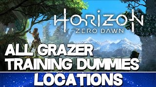 Horizon Zero Dawn | All Grazer Training Dummies Locations
