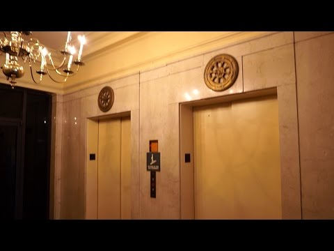 Elevator up! Elevator Down! Two nice Shenandoah tractions @ Professional Arts Building, Roanoke, VA
