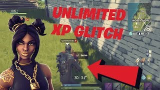 'UNLIMITED XP GLITCH' FORTNITE SAISON 8 XP GLITCH!