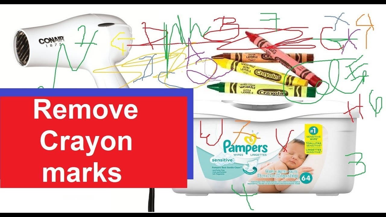 How to remove crayon marks from wall youtube - Remove crayon walls ...