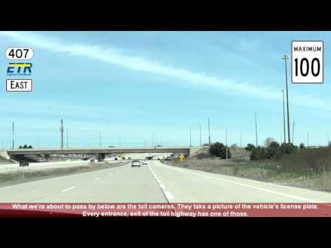 Toronto Freeways #1: Ontario Highway 409, 401, 400, 407, 404