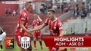 Highlights: tipico Bundesliga, 3. Runde: FC Flyeralarm Admira - LASK 0:1