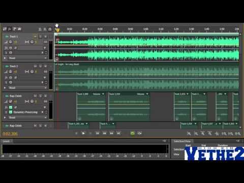 [Phần 1/5] Hướng dẫn mix nhạc với Adobe Audition CS6 - Mix bài 4U