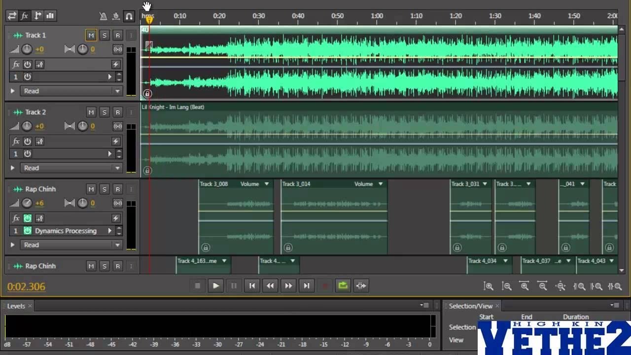 [Phần 1/5] Hướng dẫn mix nhạc với Adobe Audition CS6 – Mix bài 4U