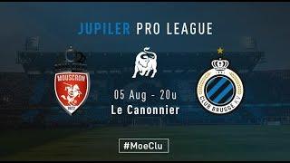 MOESKROEN - CLUB BRUGGE | Matchverslag   | 2018-2019