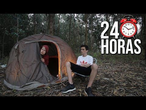 DESAFIO 24 HORAS NA FLORESTA