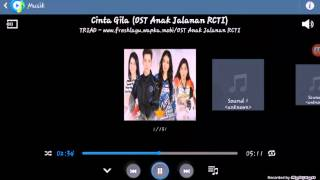 Video OST (ANAK JALANAN) CINTA GILA download MP3, 3GP, MP4, WEBM, AVI, FLV Desember 2017
