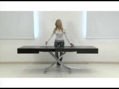 multi lifting, extending coffee table - youtube
