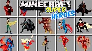Minecraft - SUPERHEROES MOD - BATMAN humilla con su traje!!