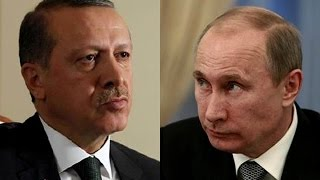 STUPIDITY: Russian Fighter Jet Shot Down By Turkey